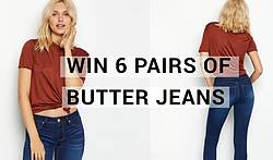 1822 Denim Butter Jeans Giveaway