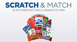 Holiday Station Stores Scratch & Match Sweepstakes
