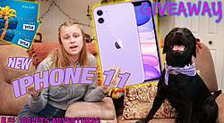 NEW iPhone 11 by Making a CUTE Dog or Puppy Video Giveaway