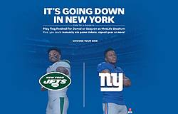 2019 Pepesi New York Flag Football Sweepstakes & Instant Win Game