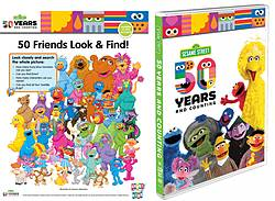 Pausitive Living: Sesame Street: 50 Years and Counting DVD Giveaway