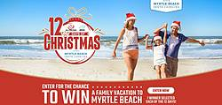 12 Days of Christmas Visit Myrtle Beach Sweepstakes