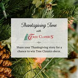 Thanksgiving Time With Tree Classics