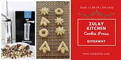 LimByLim: Zulay Kitchen Cookie Press Giveaway