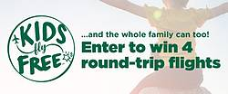 Frontier Airlines Kids Fly Free Sweepstakes