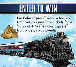 Lionel Trains Holiday Sweepstakes