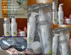 Beauty Cooks Kisses: Lexli Skincare Holiday Rescue Kit Giveaway