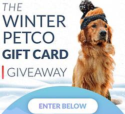 Good Pooch Winter Petco Gift Card Giveaway