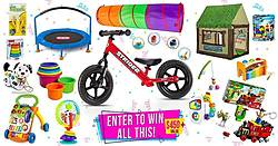 Family Focus: Toddler Prize Pack Giveaway