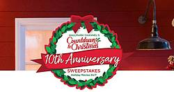 RCN Hallmark Channel's Countdown to Christmas 10th Anniversary Sweepstakes