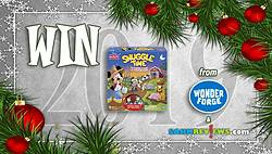 SAHM Reviews: Holiday Giveaway 2019 - Disney Snuggle Time Game Giveaway