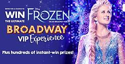 The Claire's Ultimate Broadway Experience Sweepstakes & Instant Win Game