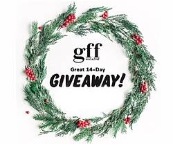 Gluten-Free Forever Magazine Great 14-Day Giveaway
