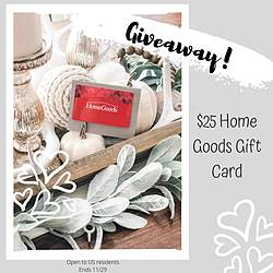 Southernmadesimple: $25 HomeGoods Gift Card Giveaway