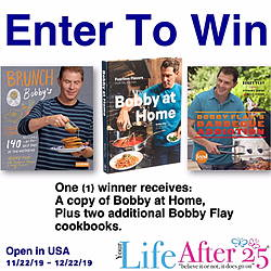 Your Life After 25: Win the Bobby Flay Cookbook Prize Pack Giveaway