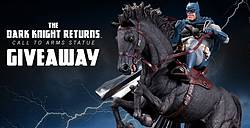 Sideshow the Dark Knight Giveaway