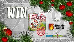 SAHM Reviews: Holiday Giveaway 2019 - AUTOGRAPHED My First Castle Panic Game Giveaway