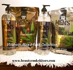 Beauty Cooks Kisses: Vitabath Men's Bath Products Giveaway