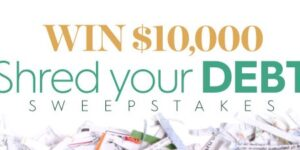 Better Homes And Gardens Shred Your Debt Sweepstakes