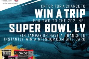 "Dannon Oikos ""Super Bowl LV Trip"" Instant-Win Game and Sweepstakes at Publix"