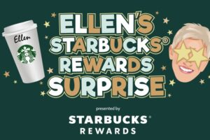 Ellen's Starbucks Rewards Surprise Contest