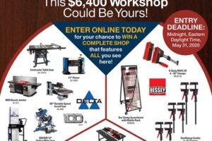Popular Woodworking Workshop Sweepstakes