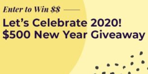 Dr Jays Let's Celebrate 2020 $500 New Year Giveaway