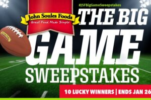John Soles Food The Big Game Sweepstakes