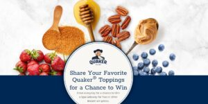 Quaker Oatmeal Favorite Flavors Instant Win Game