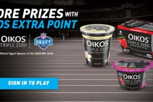 "OIKOS ""Extra Point"" Instant Win Game and Sweepstakes"