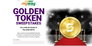 Subway Golden Ticket Instant Win Game & Sweepstakes
