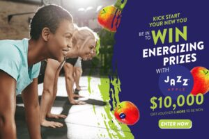 Jazz Apple Kick Start Your New You Contest