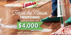 HGTV Libman Forget the Messes Sweepstakes