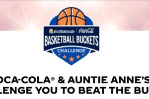 Coca-Cola Auntie Anne's Basketball Buckets Challenge Instant Win Game