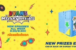 Nickelodeon Ryan's Mystery Playdate Season 3 Sweepstake