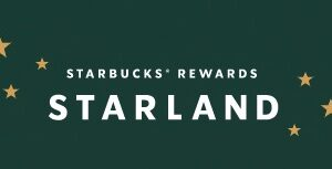 Starbucks Rewards Starland Instant Win Game