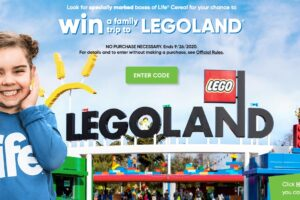 Quaker Life Cereal LEGOLAND Instant Win Game