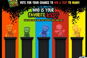 Sour Patch Kids Shock The Vote Instant Win Game