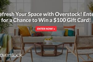 The Real Overstock Sweepstakes