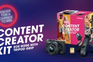 Canon Content Creator Kit Sweepstakes