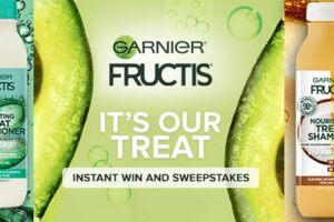 Garnier It's Our Treat Instant Win Game and Sweepstakes
