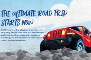 Club CITGO Ultimate Road Trip Sweepstakes