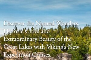 Viking Expedition Cruise for Two to Explore the Great Lakes Giveaway
