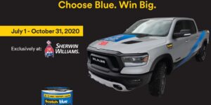 ScotchBlue Painter's Tape Ram 1500 Rebel Truck Giveaway