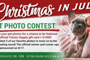 Tractor Supply Company 2020 Christmas In July Contest