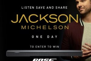 Jackson Mickelson Bose Sound Bar Sweepstakes