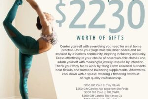 Yoga at Home Giveaway