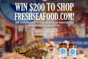 Pure Food Fish Market Sweepstakes