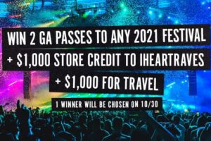 iHeartRaves The Ultimate 2021 Festival Giveaway