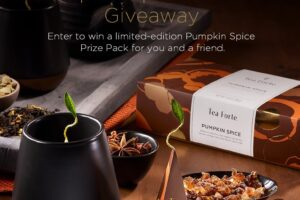 TeaForte Pumpkin Spice For Two Giveaway Sweepstakes